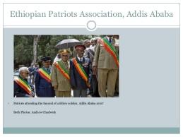 Ethiopian elders patrioties