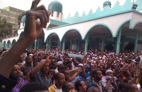 Ethio-muslims protest