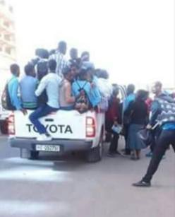 Addis taxi strike