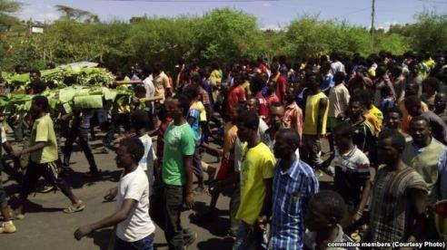 Konso Protest Ethiopia
