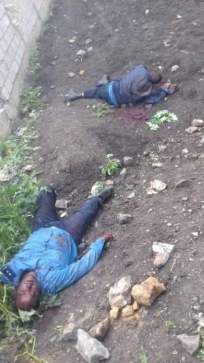 Dead police at AA hana mariam lafto area