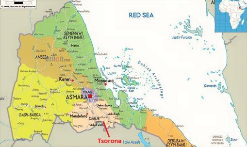 Ethio_Eritrea conflict area