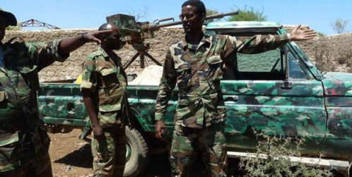 Ethiopian troops in Somalia