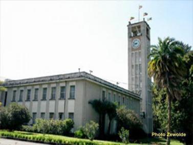Ethiopian Parlama building