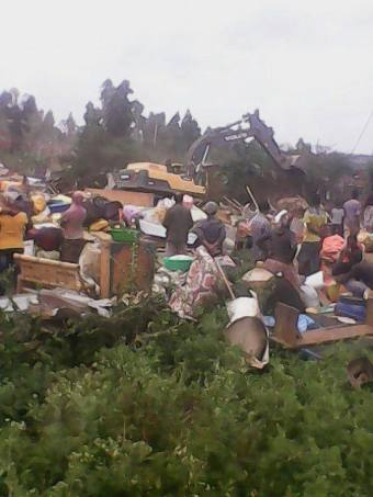 NFSL demolishing In Addis