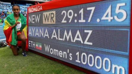 Alemaz Ayana Rio 2016