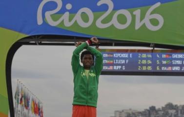Athlet Feyisa Lelisa