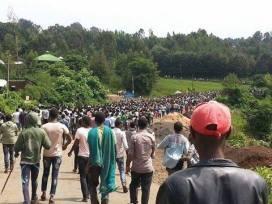 Bure Gojam Amhara protest