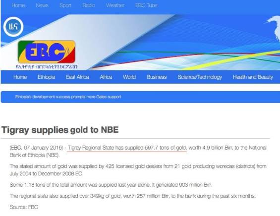 EBC Tigray gold