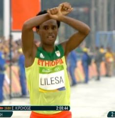 Feyisa Lelisa Rio2016