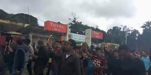 Gonder Amhara Protest