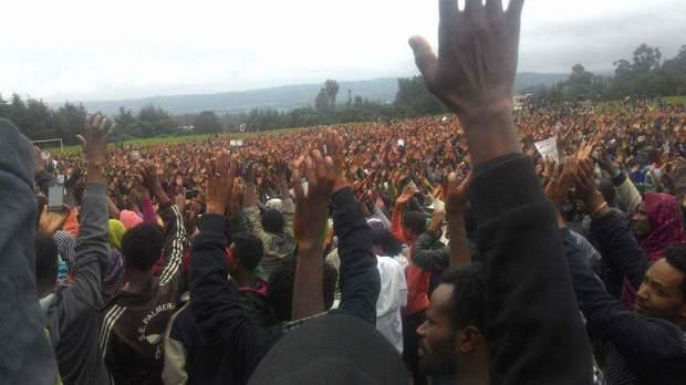 Oromo Protest, Adama